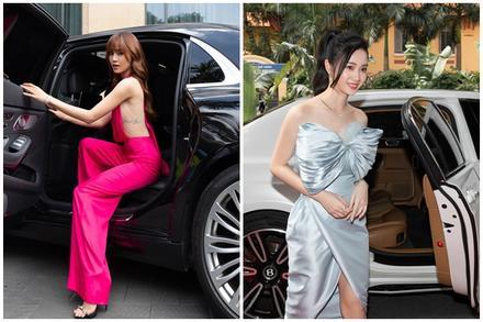 Ninh Dương Lan Ngọc, Jun Vũ xuất hiện sang chảnh bên dàn siêu xe 200 tỷ đồng
