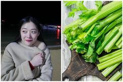 Sulli từng ăn cần tây, tâng túi nhựa liên tục để giảm cân