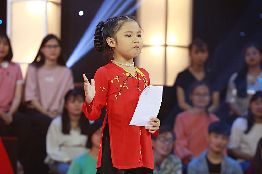 Cô bé 7 tuổi rinh về giải thưởng lớn khi mắng Ngô Kiến Huy xối xả tại Thách Thức Danh Hài-1