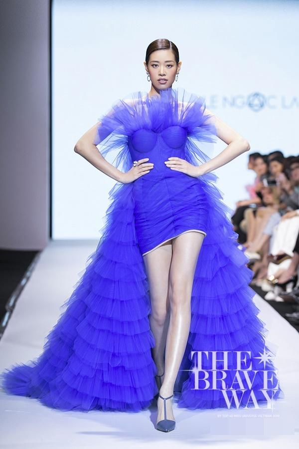Liên tục bị chê catwalk, Thúy Vân vẫn được kỳ vọng lọt top 45 Hoa hậu Hoàn vũ Việt Nam 2019-6