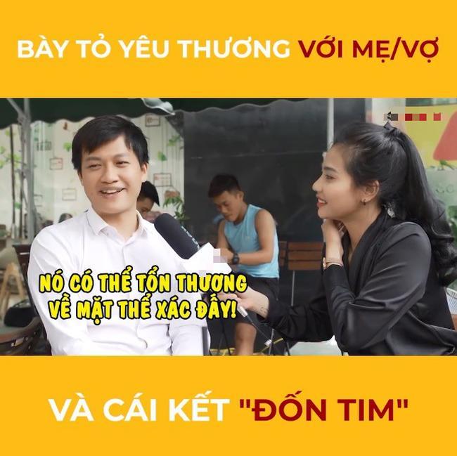 Đường đường là MC có tiếng của VTV, Trần Ngọc làm bao người cười ngất khi lộ rõ bản chất sợ vợ-3
