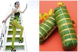 Bảo Anh diện áo tắm Fendi sexy hết cỡ nhưng qua tay Lý Quí Khánh lại trở thành 'bánh tét' phát sáng