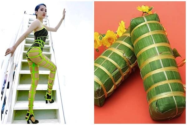 Bảo Anh diện áo tắm Fendi sexy hết cỡ nhưng qua tay Lý Quí Khánh lại trở thành bánh tét phát sáng-3