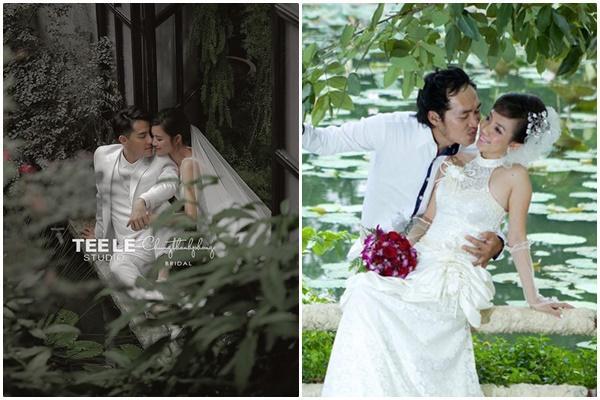 Thu Trang - Tiến Luật khoe ảnh cưới 8 năm, không đẹp bằng Đông Nhi - Ông Cao Thắng nhưng độ lầy chắc chắn hơn-5