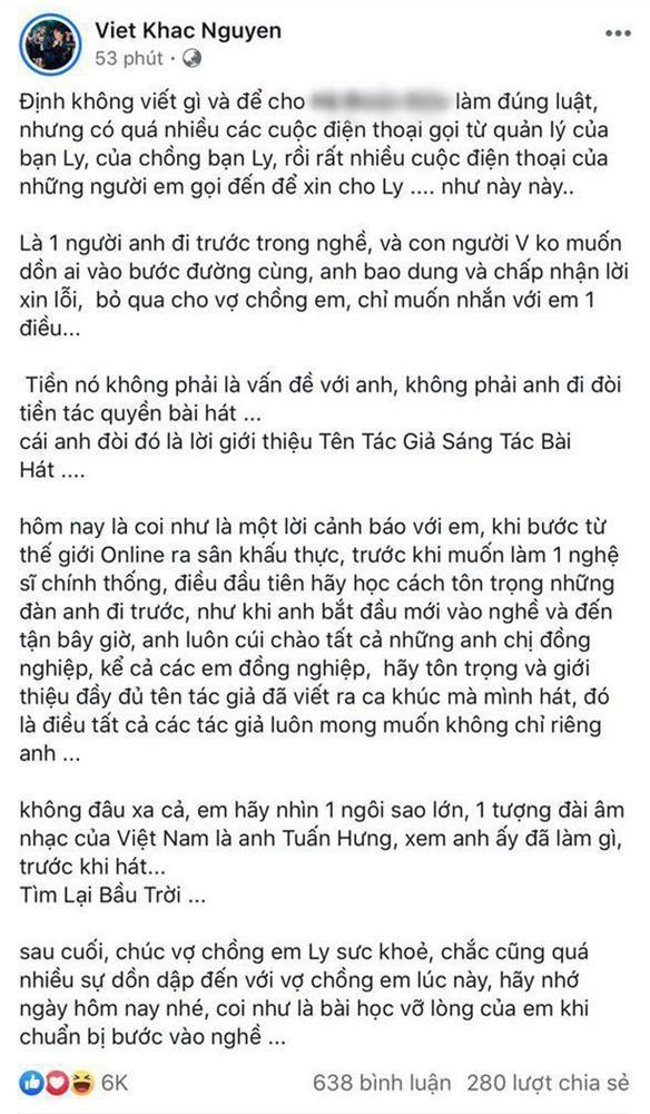 1 tháng nói xin lỗi tới 4 lần, Hương Ly kế vị Hòa Minzy trở thành thánh sorry mới của Vbiz-6