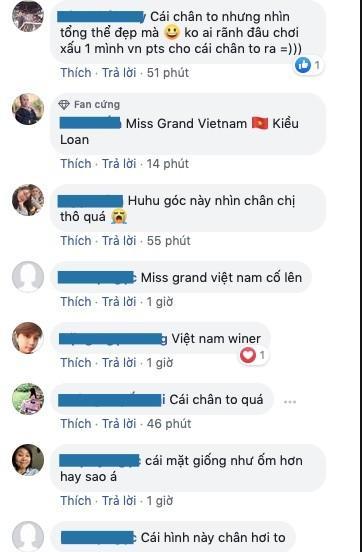 Kiều Loan lộ chân to và ngắn, fan nghi ngờ nhiếp ảnh gia chụp hình không có tâm ở Miss Grand International-8