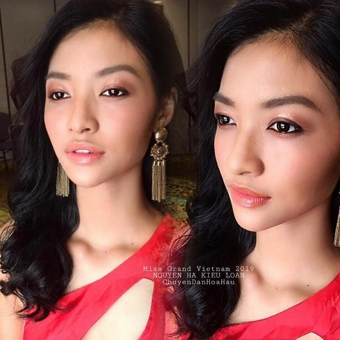 Kiều Loan lộ chân to và ngắn, fan nghi ngờ nhiếp ảnh gia chụp hình không có tâm ở Miss Grand International-13