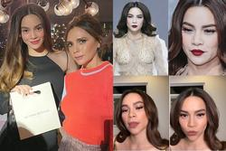 Hồ Ngọc Hà phản ứng gì khi được khen khí chất ngang hàng biểu tượng thời trang thế giới Victoria Beckham?