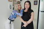 Châu Bùi và Hoàng Ku quấn khăn làm áo cũng không nữ tính bằng NTK Lý Quí Khánh-14