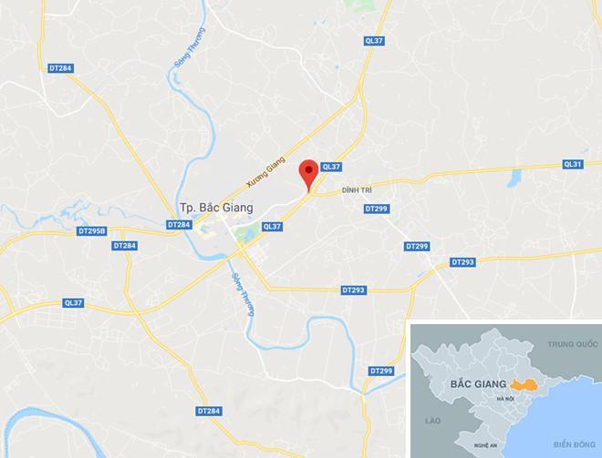 Xe khách cháy rụi khi đang chạy trên cao tốc Hà Nội - Bắc Giang-2