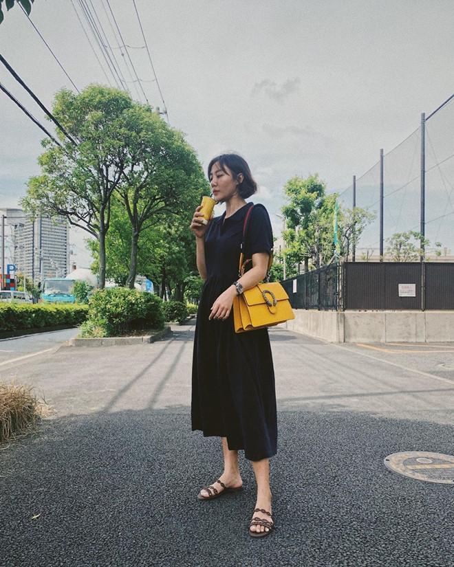 Văn Mai Hương đời thường chuộng diện váy cúp ngực, đồ dáng rộng-5