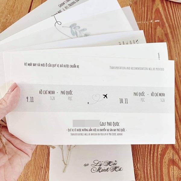 Lộ thiệp cưới giản dị của Đông Nhi và Ông Cao Thắng, 500 khách mời được cô dâu chú rể đài thọ toàn bộ kinh phí-4