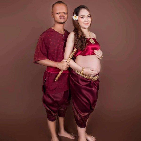 Cặp đôi chồng cú vợ tiên từng náo loạn MXH châu Á khoe ảnh con mới sinh làm ai cũng bất ngờ-2