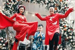 Vừa làm đám hỏi, Lưu Đê Ly nhắn nhủ bố của con trai: 'Em sẵn sàng cùng anh lên voi xuống chó'