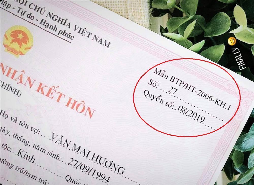 Dân mạng bóc phốt giấy đăng ký kết hôn của Văn Mai Hương là giả, nghi chiêu trò PR sản phẩm mới-3