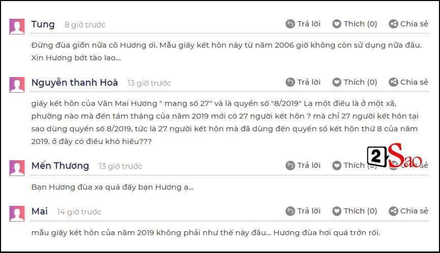 Dân mạng bóc phốt giấy đăng ký kết hôn của Văn Mai Hương là giả, nghi chiêu trò PR sản phẩm mới-4