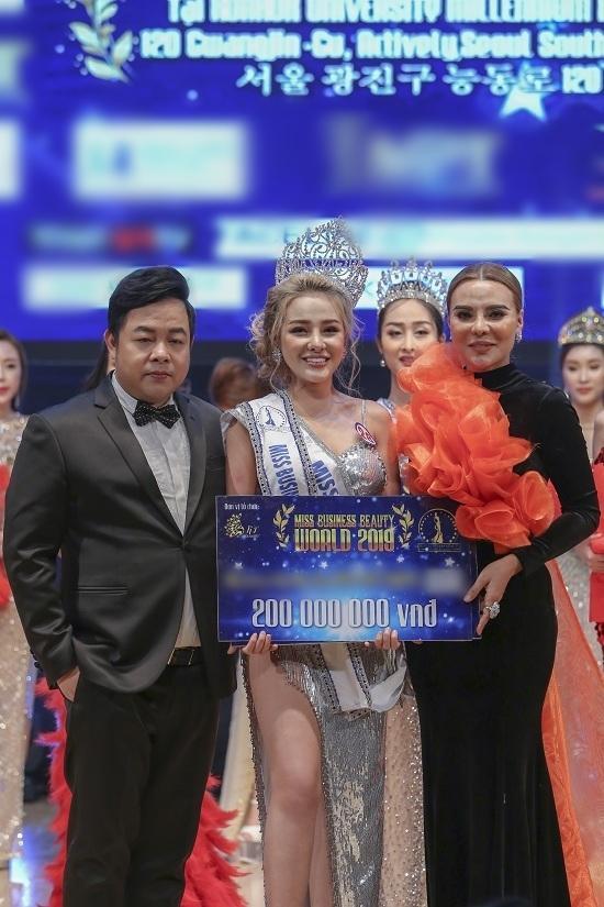 Đoạt ngôi á hậu nhưng Ngân 98 rất có thể bị sờ gáy vì tham gia cuộc thi sắc đẹp chui tại Hàn Quốc-2