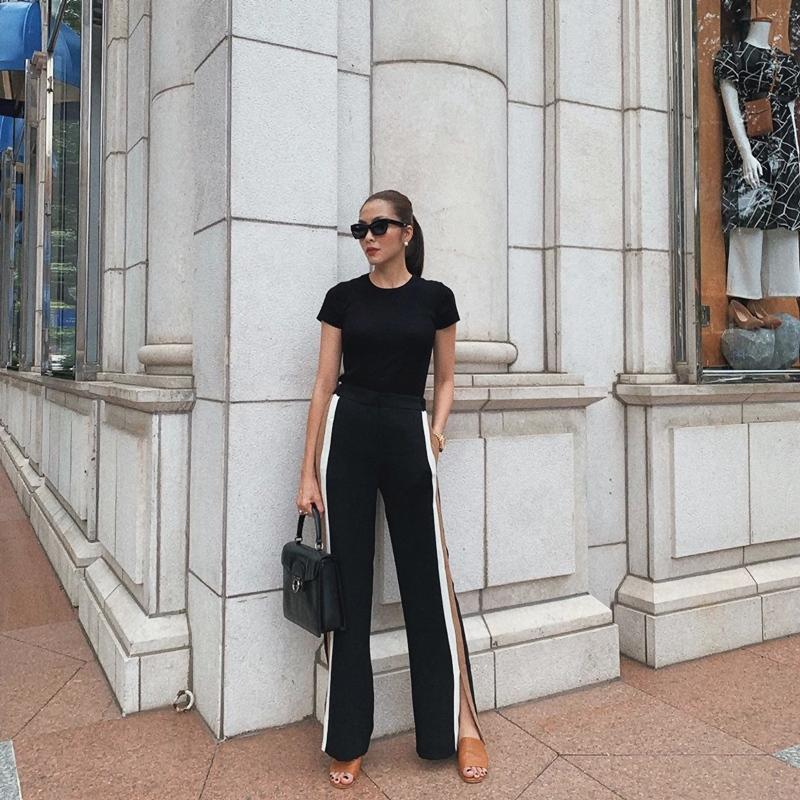 Trước ngày lên xe hoa, Đông Nhi khoe street style chất như nữ tổng tài - Thanh Hằng pose dáng gây chú ý-6