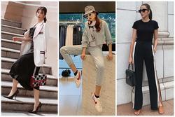 Trước ngày lên xe hoa, Đông Nhi khoe street style chất như 'nữ tổng tài' - Thanh Hằng pose dáng gây chú ý