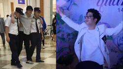 Giữa nghi án là chú rể của Văn Mai Hương, Bùi Anh Tuấn lê chân đau hát hit 'Cưới nhau đi'
