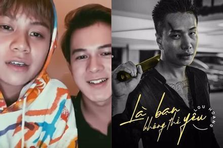 Lou Hoàng hát 'Là bạn không thể yêu' buồn não nề, nghe bản cover Bảo Hân - Quang Anh chỉ thấy 'một trời cute'