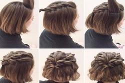 Xinh như mộng với những kiểu tóc tết dành riêng cho nàng tóc ngắn