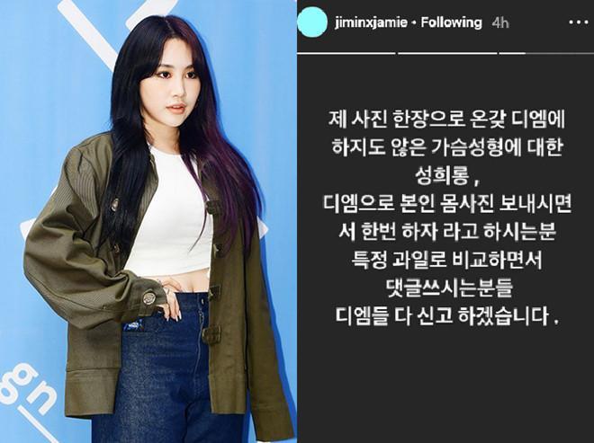 Ca sĩ Hàn bị quấy rối tình dục sau khi đăng ảnh gợi cảm trên mạng-2
