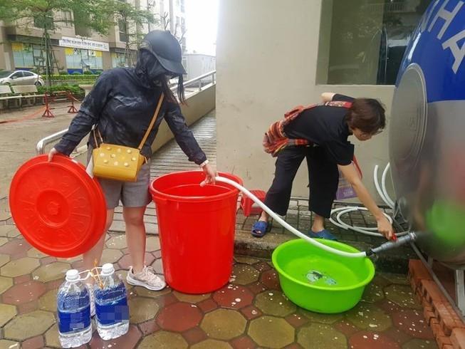 Sở Y tế Hà Nội thông tin kết quả xét nghiệm nước sông Đà-1