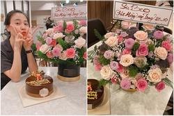 Subeo tặng lẵng hoa rực rỡ, gọi Đàm Thu Trang là 'mẹ' chúc mừng 20/10
