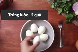 Thưởng thức trứng cà ri thơm ngon trong mùa lạnh
