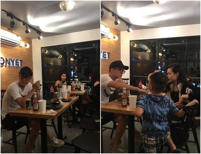 Chí Nhân lộ ảnh đi ăn cùng gái lạ, rộ nghi án đã chia tay MC Minh Hà-2