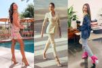 Bản tin Hoa hậu Hoàn vũ 20/10: Hoàng Thùy mặc suit xuất sắc, 'chặt' dàn mỹ nữ quốc tế không chừa một ai