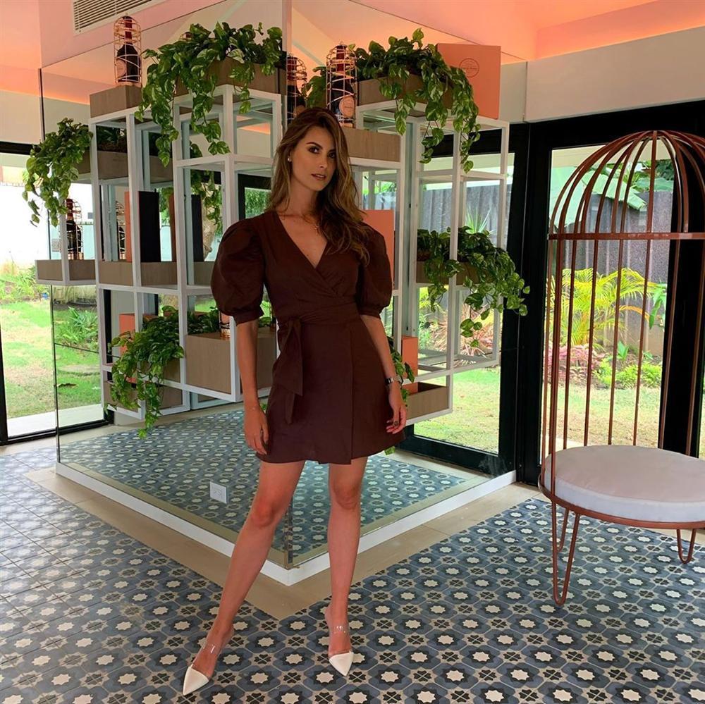 Bản tin Hoa hậu Hoàn vũ 20/10: Hoàng Thùy mặc suit xuất sắc, chặt dàn mỹ nữ quốc tế không chừa một ai-2