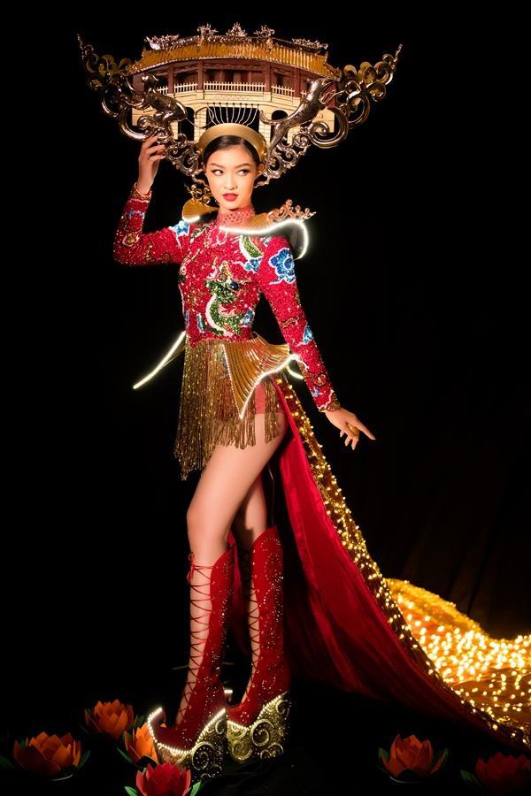 Kiều Loan chơi lớn với quốc phục 2000 đèn led, hứa hẹn gây sốt tại Miss Grand International 2019-1