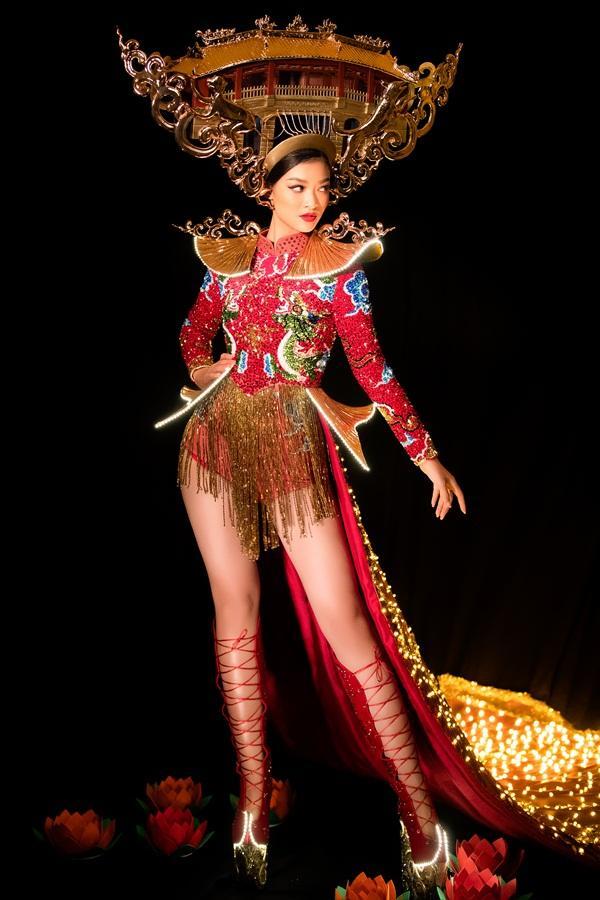 Kiều Loan chơi lớn với quốc phục 2000 đèn led, hứa hẹn gây sốt tại Miss Grand International 2019-2
