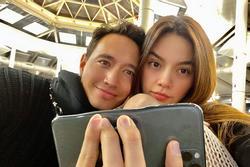 Kim Lý - Hồ Ngọc Hà đăng ảnh đẹp đôi, nhưng ai nấy phát khiếp khi nhìn thấy chiếc điện thoại bị 'nung chảy'