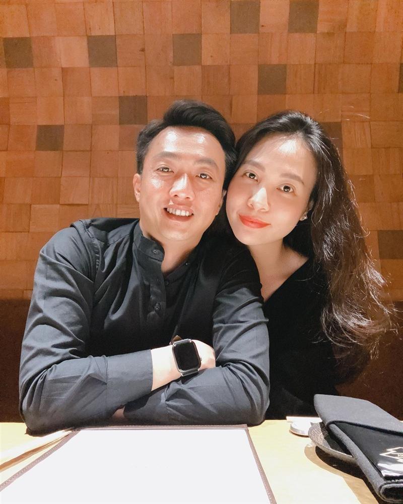 Đàm Thu Trang được khen khéo chăm chồng, tướng phu thê với Cường Đô La biểu hiện ngày càng rõ-1