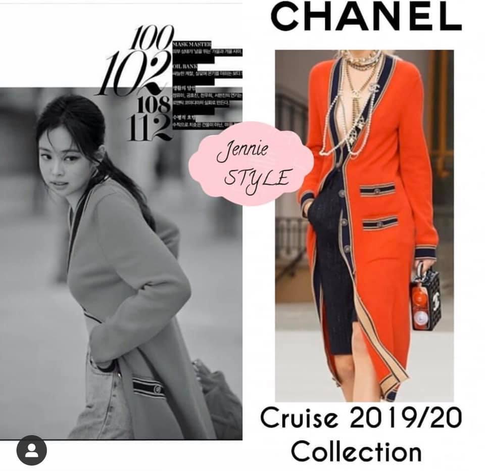Ở Việt Nam có Phượng Chanel thì ở Hàn Quốc có Coco Jennie BlackPink-2