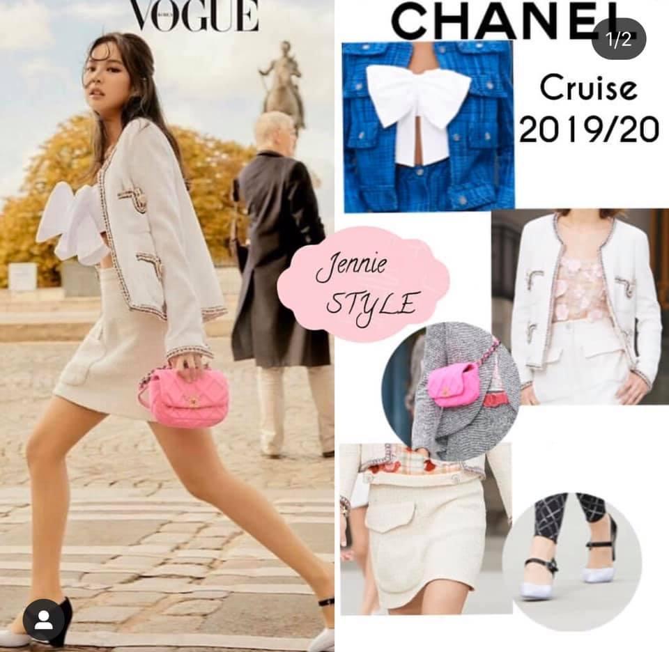 Ở Việt Nam có Phượng Chanel thì ở Hàn Quốc có Coco Jennie BlackPink-3