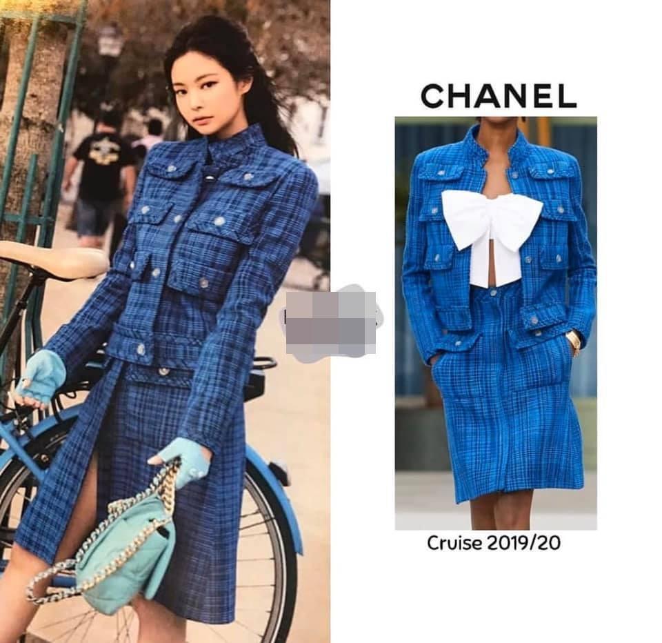 Ở Việt Nam có Phượng Chanel thì ở Hàn Quốc có Coco Jennie BlackPink-4