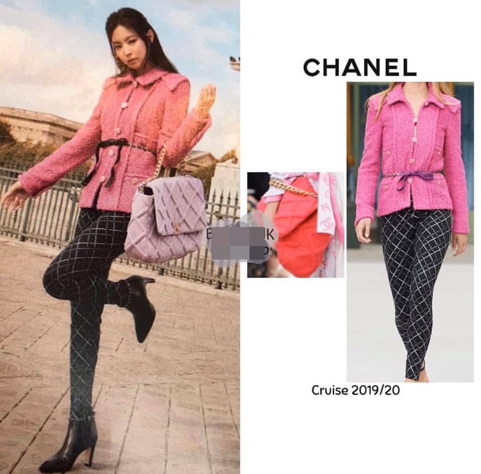 Ở Việt Nam có Phượng Chanel thì ở Hàn Quốc có Coco Jennie BlackPink-6