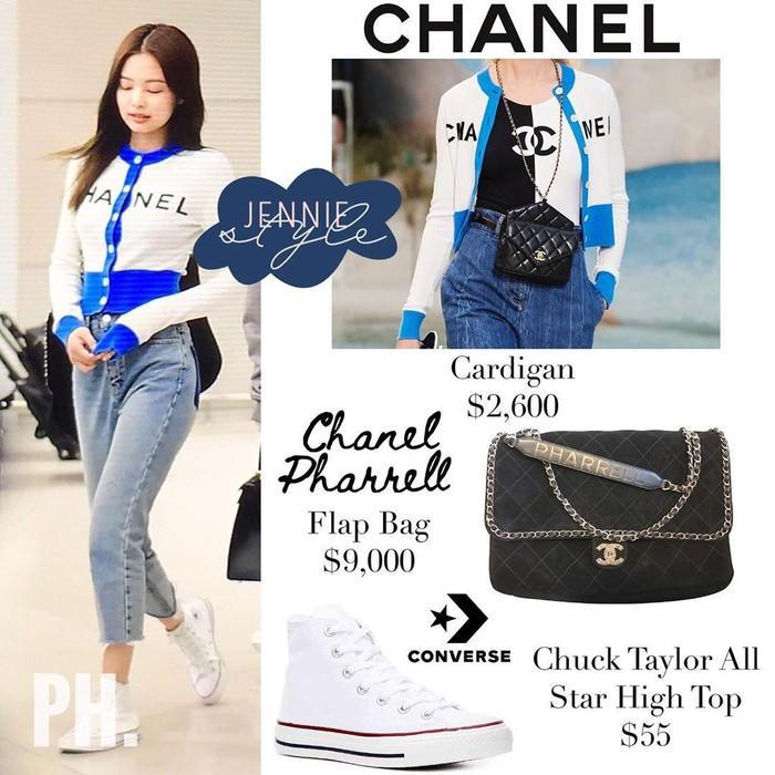 Ở Việt Nam có Phượng Chanel thì ở Hàn Quốc có Coco Jennie BlackPink-12