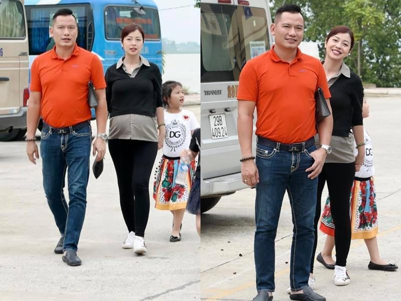 Hoa hậu Jennifer Phạm vác bụng bầu lớn đi chơi cùng ông xã đại gia-3