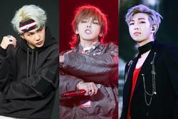 Bùng nổ tranh cãi khi BTS có tới 2 thành viên 'trên cơ' G-Dragon trong BXH 10 idol rapper đỉnh nhất Kpop