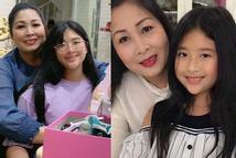 Nghệ sĩ Hồng Vân khoe quà ngày 20/10 nhưng ai cũng chỉ chú ý đến ngoại hình đổi khác của con gái út