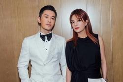Hiếm khi mặc đồ đôi với vợ, thế mà Huỳnh Hiểu Minh lại diện đồ 'xuyệt tông' với Triệu Vy khiến fans khó hiểu
