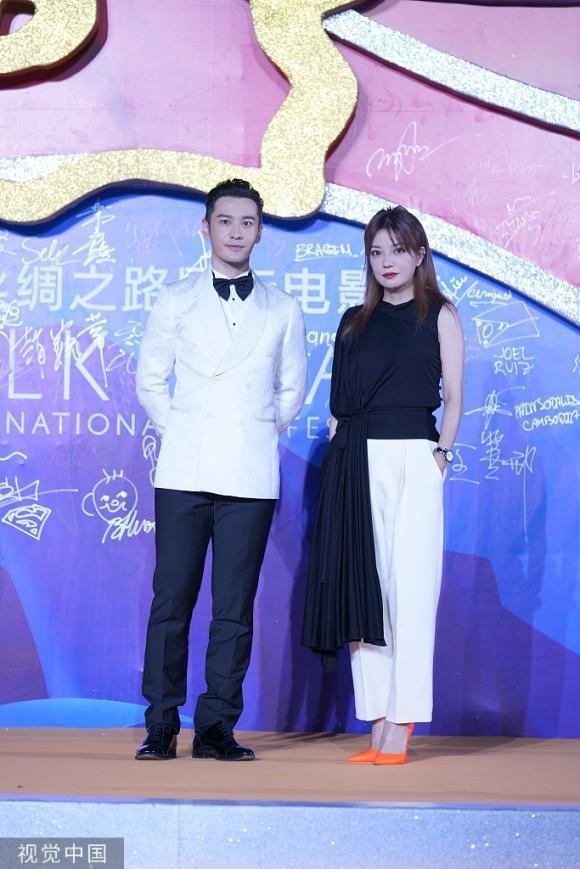 Hiếm khi mặc đồ đôi với vợ, thế mà Huỳnh Hiểu Minh lại diện đồ xuyệt tông với Triệu Vy khiến fans khó hiểu-5