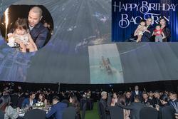 Anh trai ca sĩ Bảo Thy tổ chức sinh nhật kiểu đại gia, rạp mời khủng to như ăn cưới