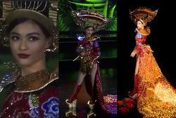 Hơn 1000 đèn led không sáng, phần thi quốc phục của Kiều Loan tại Miss Grand 2019 gây tiếc nuối