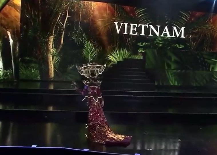 Hơn 1000 đèn led không sáng, phần thi quốc phục của Kiều Loan tại Miss Grand 2019 gây tiếc nuối-5